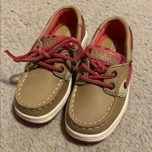 Toddler Sperry topsiders Size 7.5